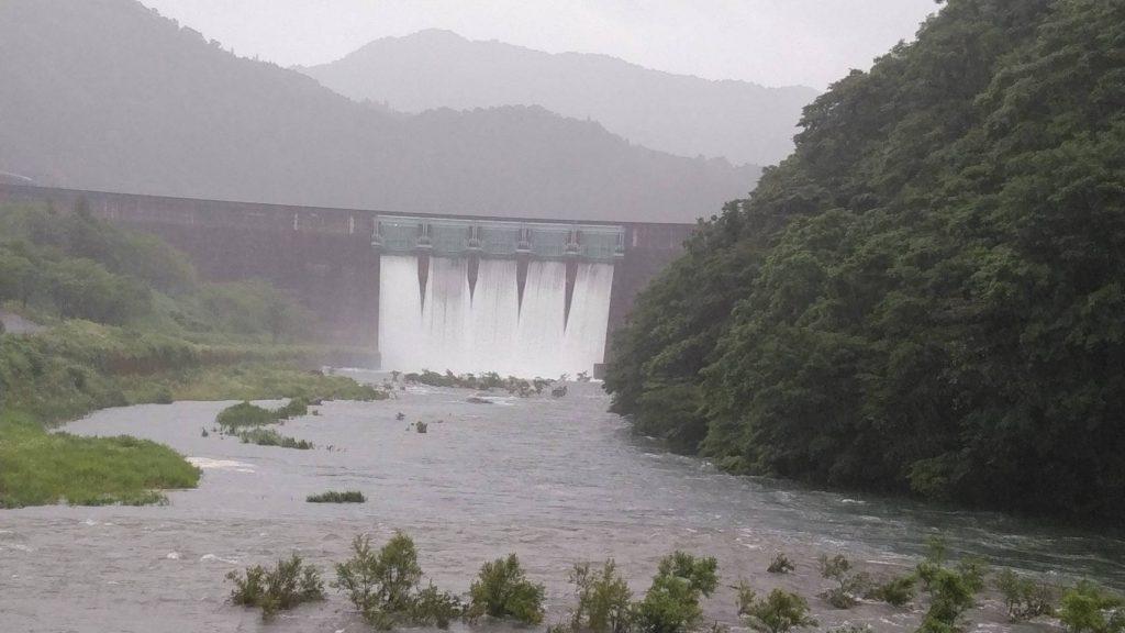 【7月9日(木)現在の河川情報のお知らせ】
